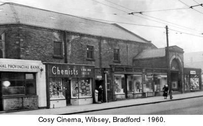 Bradford Cosy Cinema History