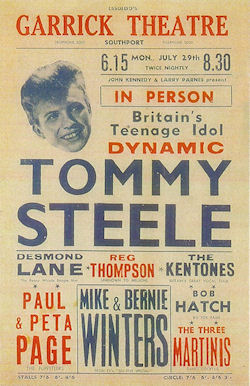 Concerts Amp Package Tours 1957 July To August